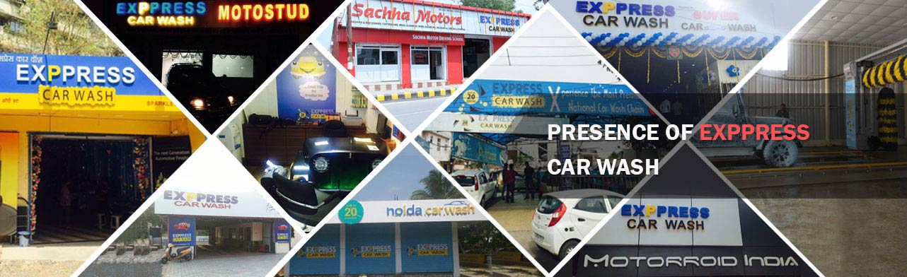 Exppress Car Wash Outlets